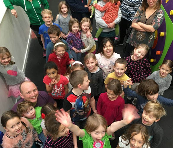 Book an extreme birthday party at Clip 'n Climb Cambridge on Thursdays or Fridays during term time
