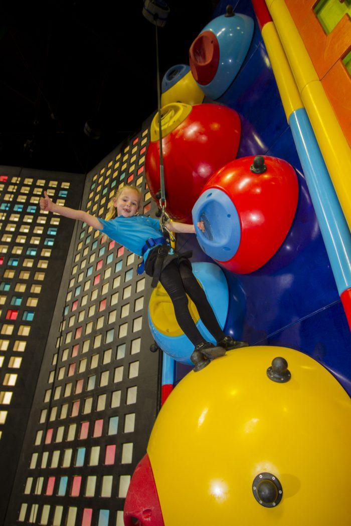 Detonator at Clip 'n Climb Cambridge, climbing centre in Cambridge