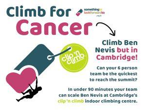 Climb for Cancer